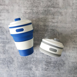 Eco Collapsible Cup | Set of 2 | Foldable Cup | Travel Cup