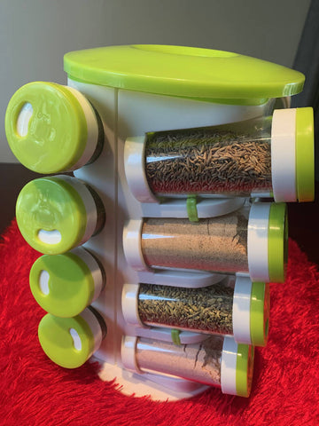 Ultimate Indian Herbs & Spices Rack (16 different herbs & spices -**Free Shipping Australia Wide**)