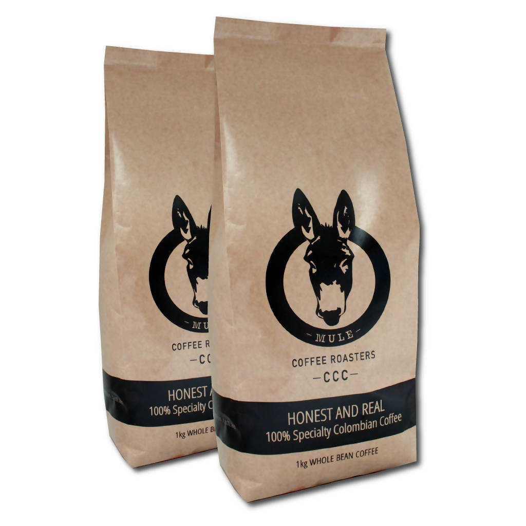 Coffee Mule Kick Combo - 2 x 1Kg bags of Signature Blend