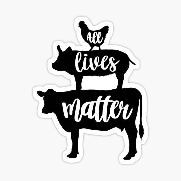 All Lives Matter - Sticker