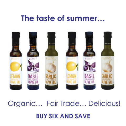 6-pack - Organic Infused Olive Oils