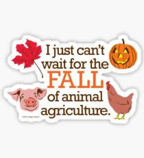 I just can't wait for the Fall - Sticker