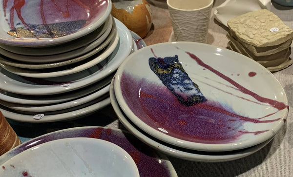 Handmade bowls and plates