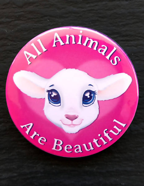 Vegan Button Badges - Set 2