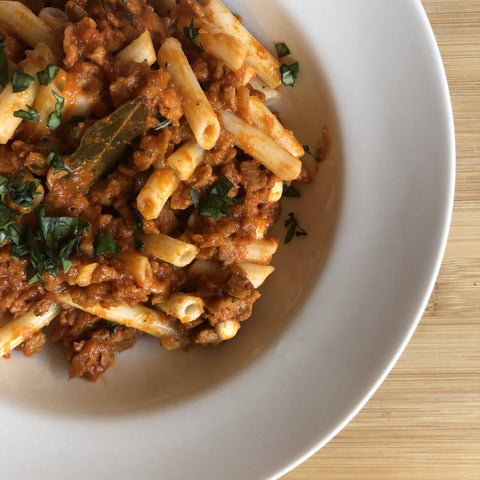 Bolognese with Penne (Gluten Free option available)