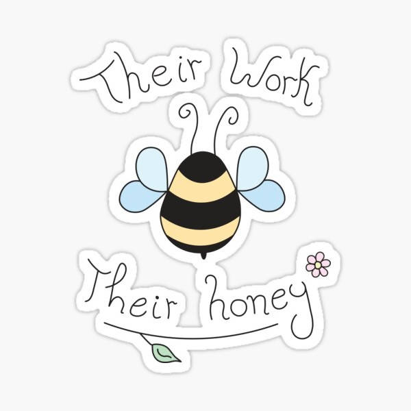 Bee Friend Sticker