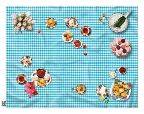 High Tea Picnic Blanket or Play Mat