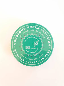 Neo GORGEOUS GREEN TEA 18G TRAVEL TIN