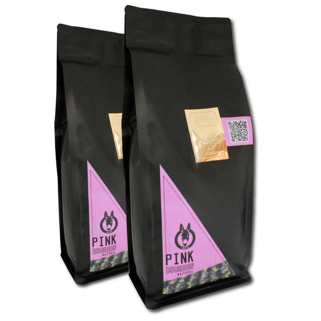Coffee Maniac Combo - 2 x 1Kg bags of Pink Bourbon