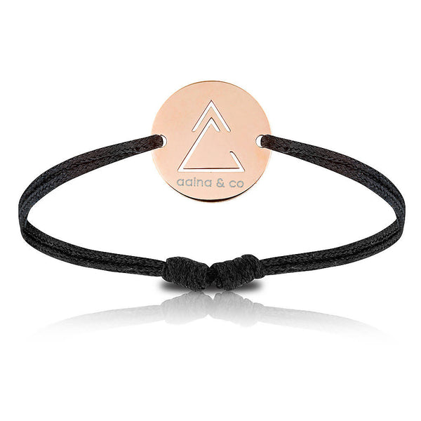 Unclosed Delta Cord Bracelet