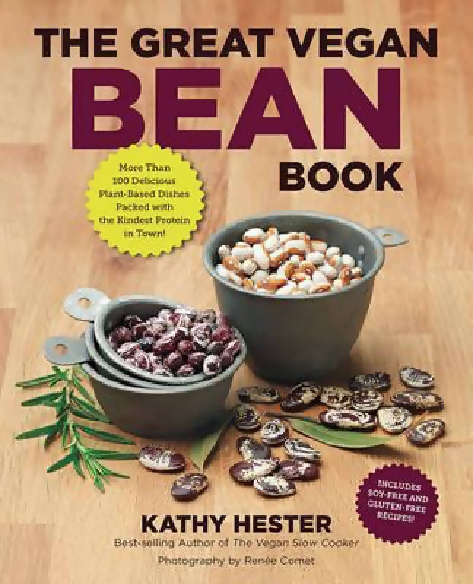 Great Vegan Bean (The) by Kathy Hester