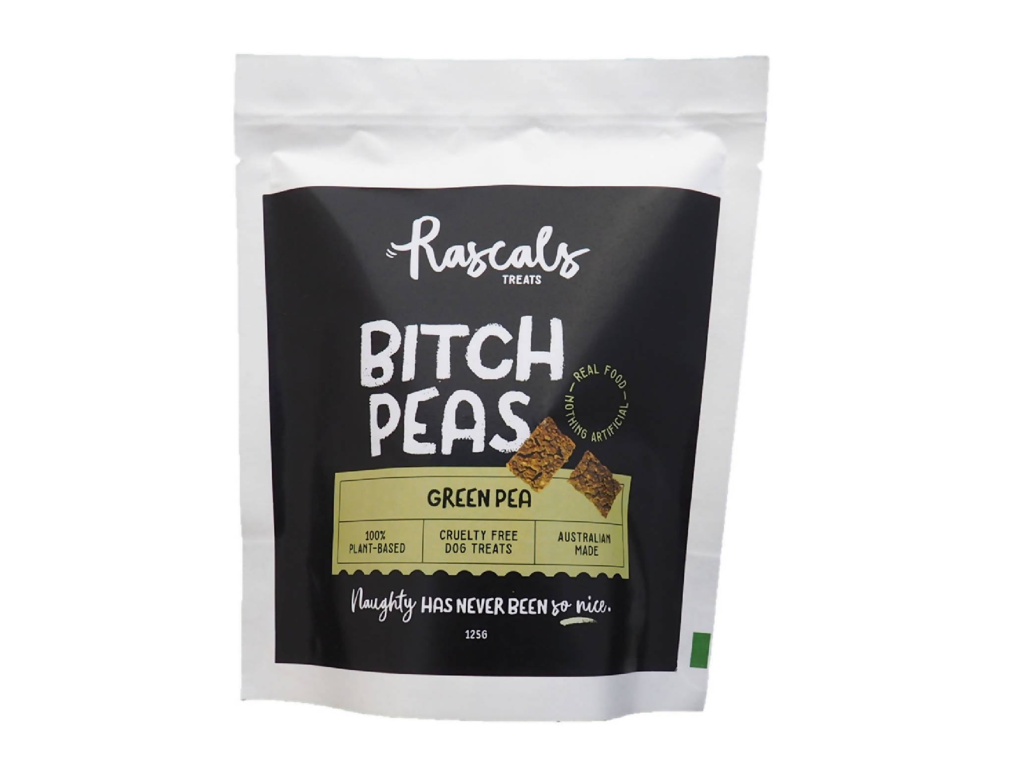 Bitch Peas - Green Pea and Sweet Potato Dog Treats