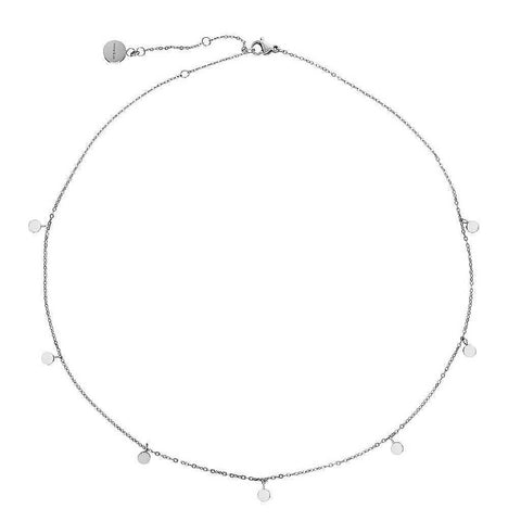 Dainty Necklace with playful Discs