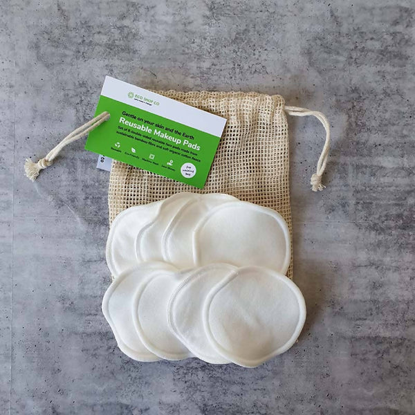 Eco Makeup Remover Pads | Reusable | Biodegradable | Vegan