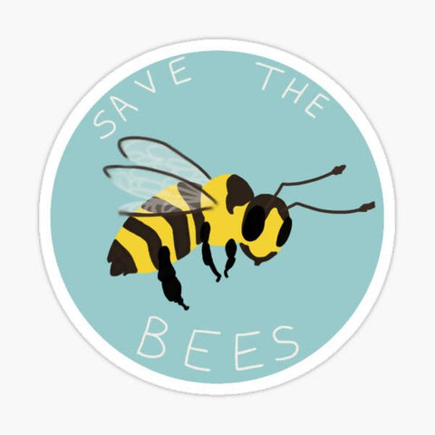 Sticker - Save The Bees #2