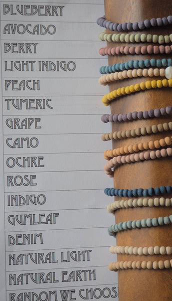 Intention Beads Hand Dyed
