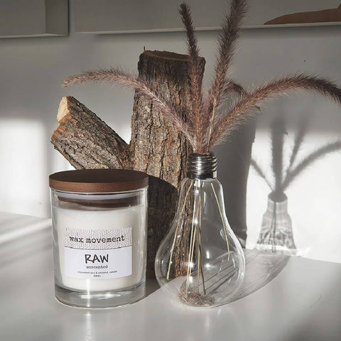 Candle - Raw (Unscented)