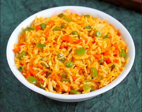 Mixed Vegetable Indian Fried Rice