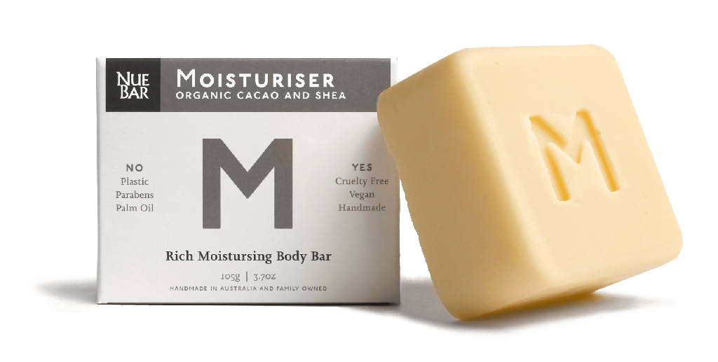 Solid body moisturiser bar