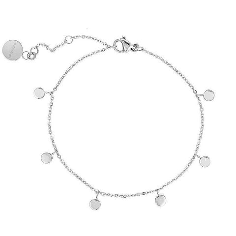 Dainty Bracelet with playful discs