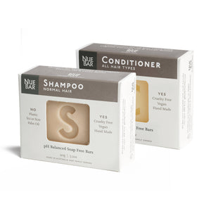 1 Shampoo and 1 Conditioner Bar Bundle