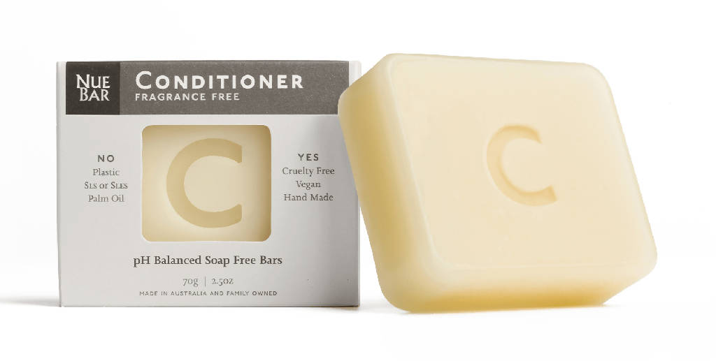 Solid Conditioner Bar for Sensitive Skin / Fragrance Free