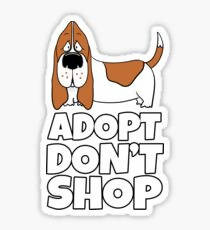 Adopt Don't Shop - Sticker