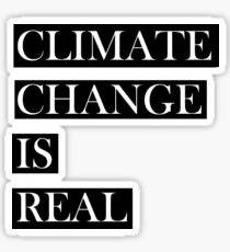Climate Change is Real - Sticker