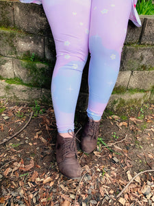 Bunparfait Fairy Kei Pastel Leggings (Made to Order)