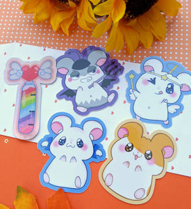 Hamtaro Heartbreak Sticker Pack