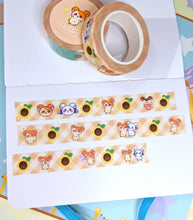 Load image into Gallery viewer, Ham-Chat Glitter Washi Tape