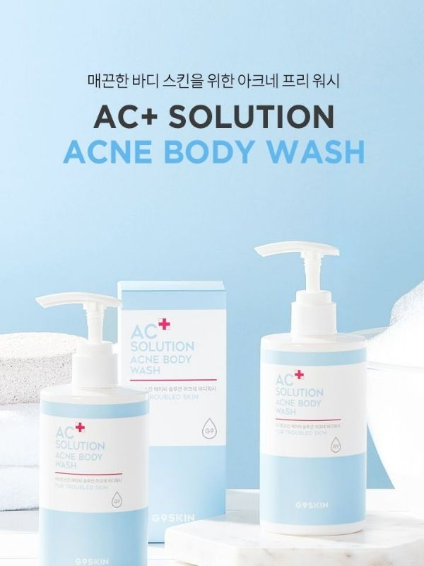 G9SKIN - Solution Acné corps AC+