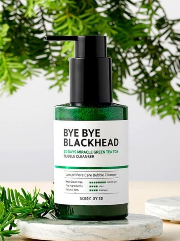 SOME BY MI - Nettoyant bulle au thé vert Bye Bye Blackhead 30 Days Miracle