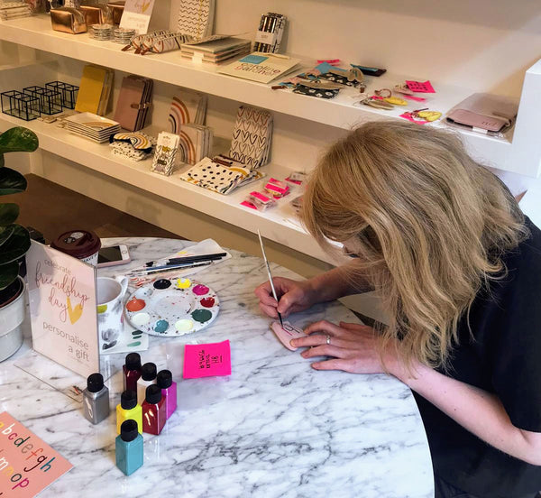 Hand painting personalisation