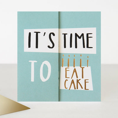 fold-out-time-to-eat-cake-birthday-card-abc008-Single Cards-1