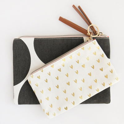 big-spot-hearts-canvas-pouch-duo-pdu102-Purses and Pouches-1