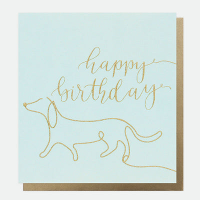 eco-glitter-sausage-dog-birthday-card-dtl005-Single Cards-1