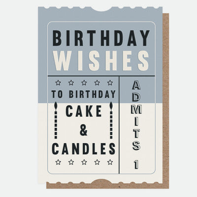cake-candles-ticket-birthday-card-jst006-Single Cards-1