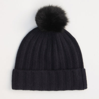 black-cashmere-bobble-hat-with-faux-pom-da4954-Hats-1