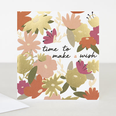 floral-time-to-make-a-wish-birthday-card-blm005-Single Cards-1