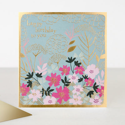kimono-floral-birthday-card-kim004-Single Cards-1