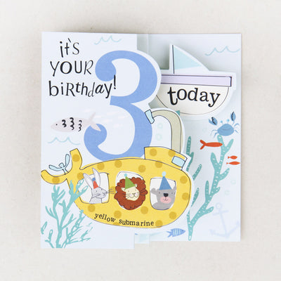 fold-out-underwater-3rd-birthday-card-zig005-Single Cards-1