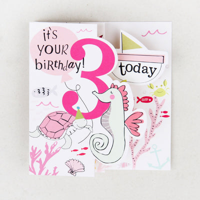 fold-out-sealife-3rd-birthday-card-zig006-Single Cards-1