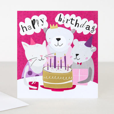 bears-cake-birthday-card-pgd005-Single Cards-1