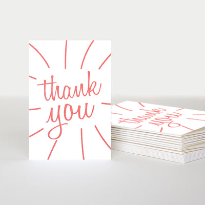 coral-thank-you-notecards-pack-of-10-pqe201-Card Packs-1