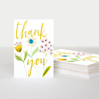 floral-thank-you-cards-pack-of-10-pqe202-Card Packs-1