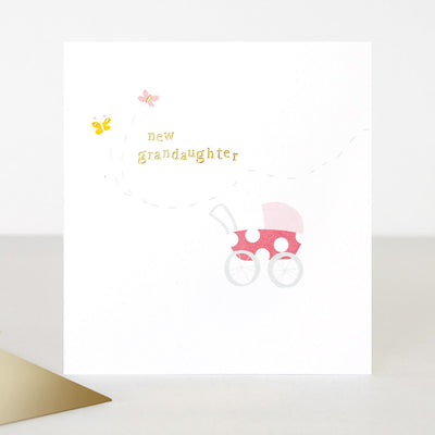 pram-new-baby-card-for-grandparent-toe032-Single Cards-1