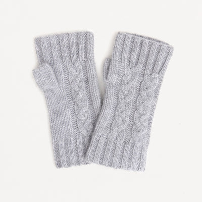 light-grey-cashmere-cable-knit-wrist-warmers-da4525-Gloves-1