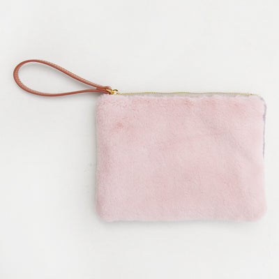 pink-faux-fur-pouch-frc100-Purses and Pouches-1