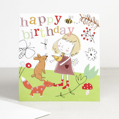 woodland-creatures-birthday-girl-card-out005-Single Cards-1